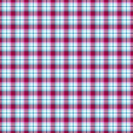 Seamless pink and blue and white checkered pattern
