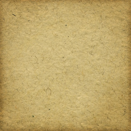 Grunge beige handmade paper background with frame
