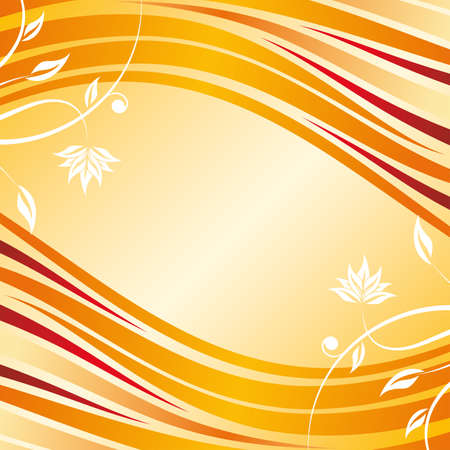 Abstract floral design background for creative ideas