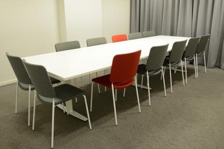 Foto de Interior of modern meeting room - Imagen libre de derechos