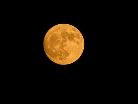 Photo pour Photo of a beautiful full moon - image libre de droit