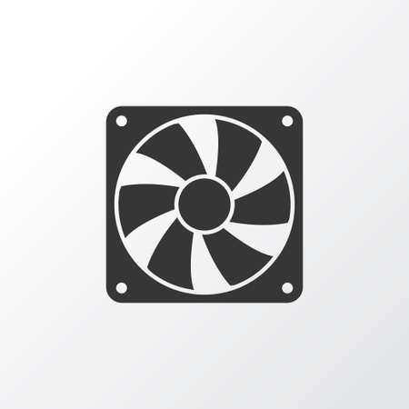 Illustration pour Cooler Icon Symbol. Premium Quality Isolated Fan Element In Trendy Style. - image libre de droit