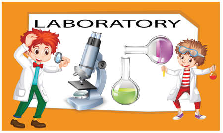 doctor in laboratory