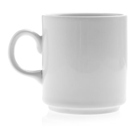 breakfast mug isolated on a white background