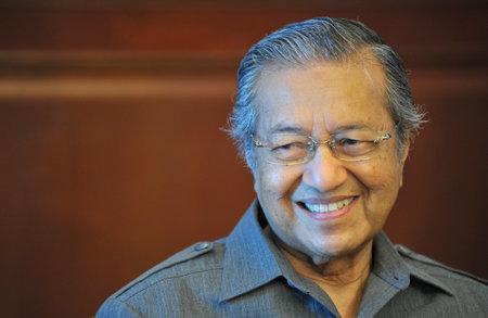 KUALA LUMPUR, MALAYSIA - JUNE 01, 2012: Former Malaysia Prime Minister, Tun Dr. Mahathir Mohamad.