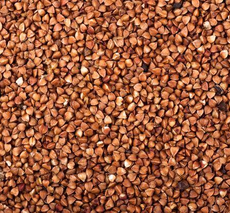 brown buckwheat background