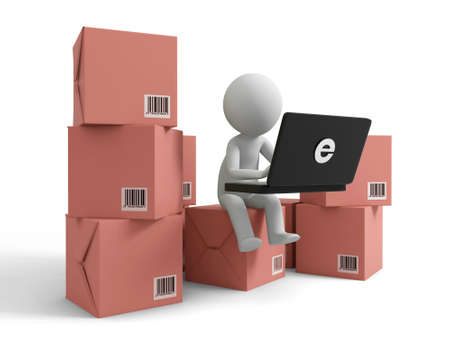 Online trading A people is to use the computer on several boxes