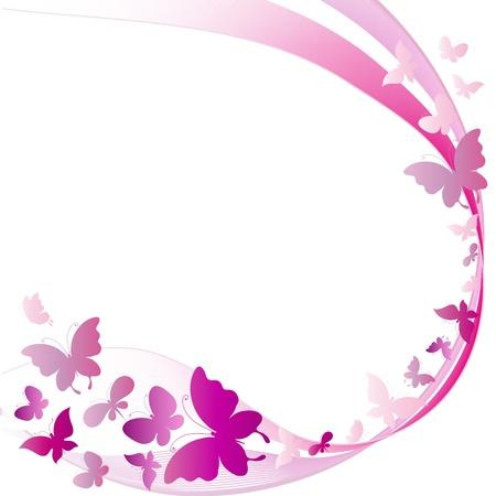 Illustration pour  butterflies  - image libre de droit