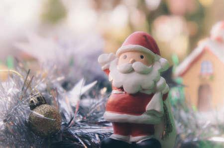 santa claus and chirstmas background