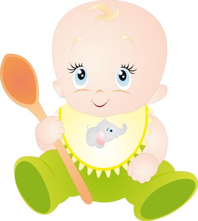 Illustration pour Baby  - image libre de droit