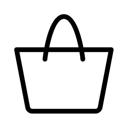 Ilustración de Shopping bag icon. Vector illustration - Imagen libre de derechos