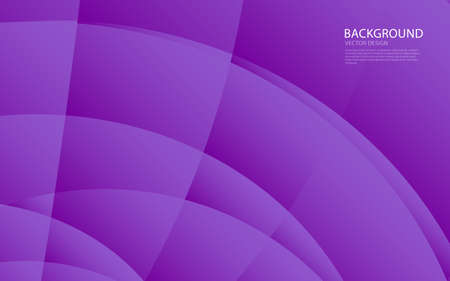 Illustration pour Purple abstract background vector creative design, Web background, banner, cover template, geometrical template,Curvy abstract backgrounds, wave pattern, texture - image libre de droit