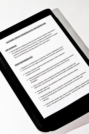 Job Description for Customer Service Representative