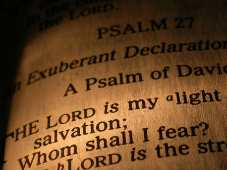 The Lord is My Light Bible Scripture