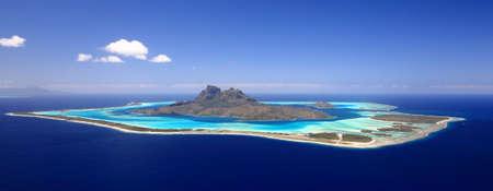 Full View of Bora Bora Lagoo