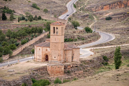 Templar church of the Vera Cruz in the city of Segovia, Spain