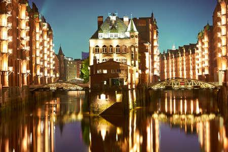 Hamburg- Speicherstadt, Germany