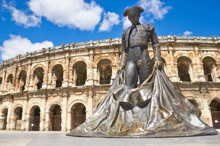 Roman Amphitheater in Provence, Nimes, France