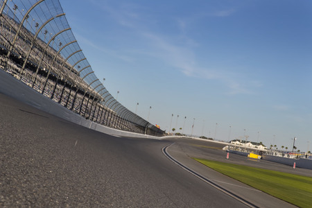 January 05, 2017 - Daytona Beach, Florida, USA:  Daytona International Speedway plays host to major motorsports events throughout the year, including the Rolex 24 Hours and the Daytona 500.  The speedway is located in Daytona Beach, Florida which is home