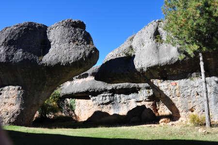 National Park  The Ciudad Encantada   Enchanted City , Cuenca  Spain
