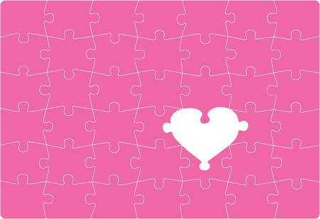 Missing Love - love themed puzzle