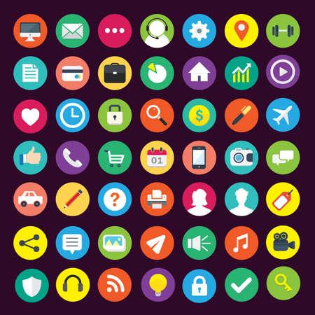 Illustration pour Business Vector Icons - image libre de droit