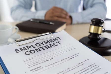 Photo pour employment law  job legal education - image libre de droit