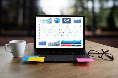 Foto für Businessman working reading documents graph financial to job succes Analyze document plans - Lizenzfreies Bild