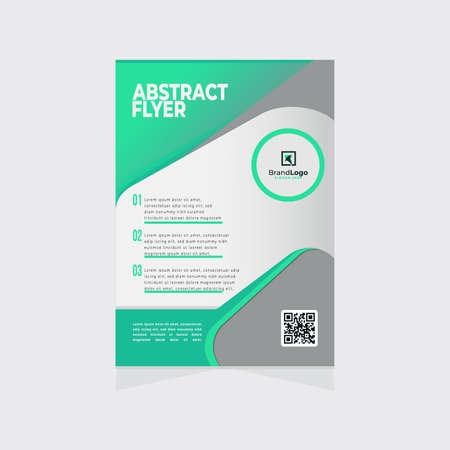 Illustration pour minimalist business and corporate poster template - image libre de droit