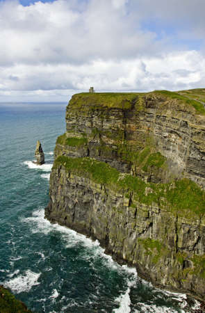 View of The Cliffs of Moher Ireland