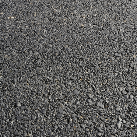 Photo for New hot asphalt abstract texture backgroun. Useful file for your brochure, flier and site about road construction, urban services and other needs - Royalty Free Image