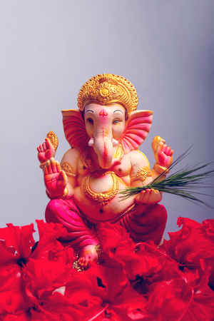 Photo for Lord Ganesha , Ganesha Festival - Royalty Free Image