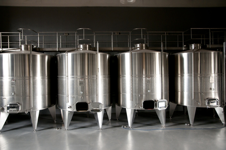 Photo for Wine Tanks - Royalty Free Image