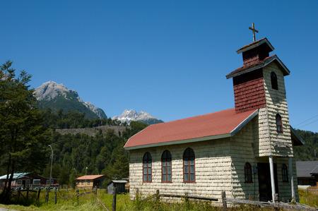 San Jose Obrero Church - Santa Lucia - Chile
