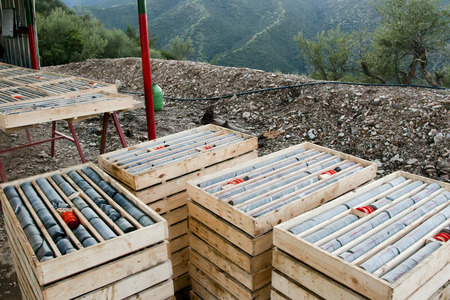 Drilled Rock Cores - Morocco
