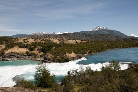 Confluence of River Baker and River Neff - Chile