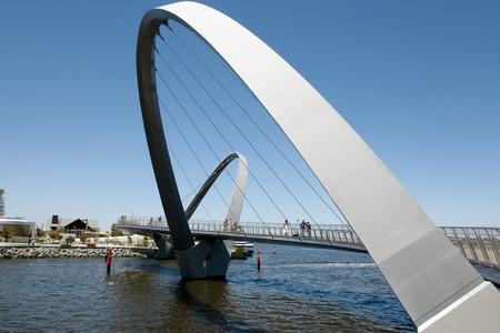 Elizabeth Quay Bridge - Perth - Australia