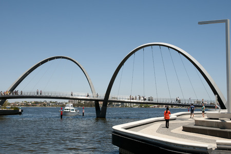 Photo for Elizabeth Quay Bridge - Perth - Australia - Royalty Free Image