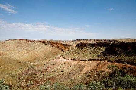 Active Mine Exploration Field - Outback Australia