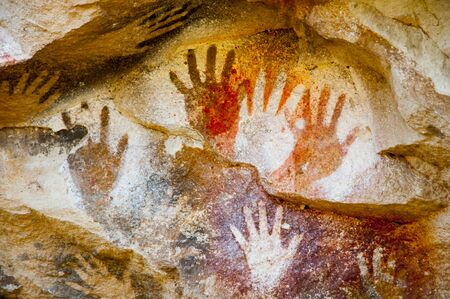 Foto de Cave of the Hands - Argentina - Imagen libre de derechos