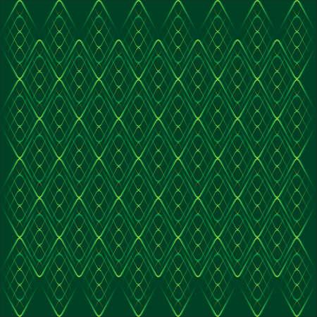 green thin grid on dark background