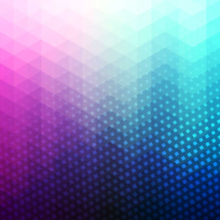 Colorful Abstract Geometric Vector Background Triangle
