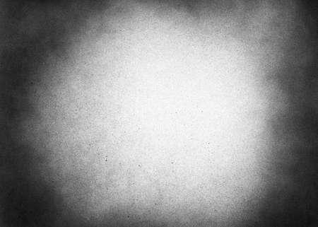 Foto de Vintage black and white noise texture. Abstract splattered background for vignette. - Imagen libre de derechos