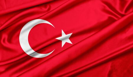 Photo for Turkey flag - Royalty Free Image
