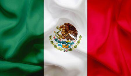 Photo pour Flag of Mexico - image libre de droit