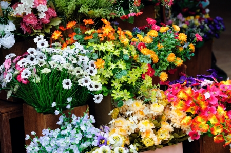Photo for fresh flowers. - Royalty Free Image