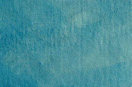 blue painted artistic canvas  background texture with pearly shimmer