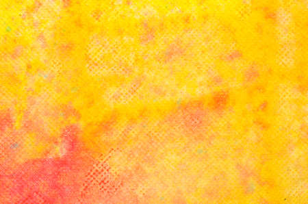 abstract watercolor yellow painted background texture