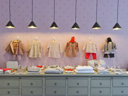Photo for Children clothing store - Royalty Free Image