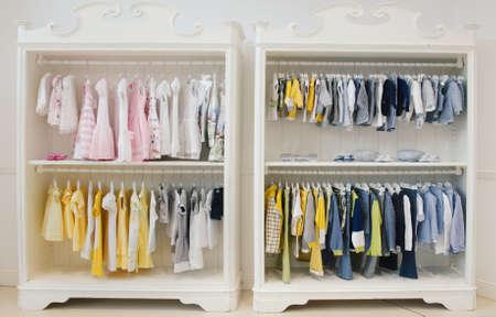 Photo pour Children clothing store - image libre de droit